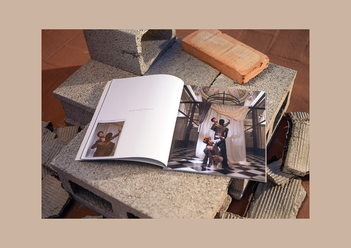 art direction  editorial Fashion Film graphic design  issue print typography