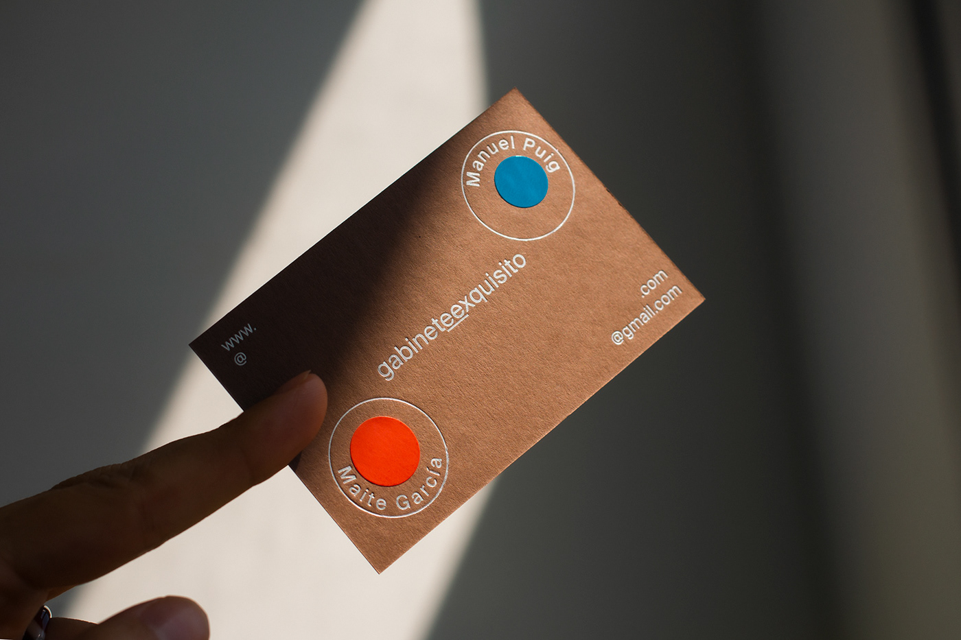 Business Cards cards colorplan foil printed stamping studio