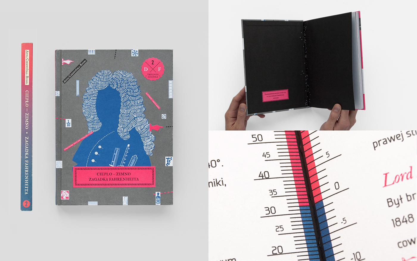 hewelius schopenhauer fahrenheit Book Series book design children trilogy anna czerwińska-rydel pantone