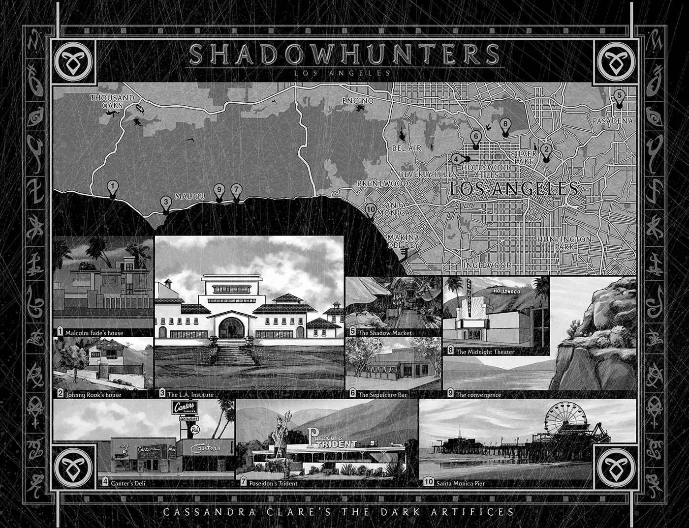 Shadowhunters new york on behance for New york city to los angeles