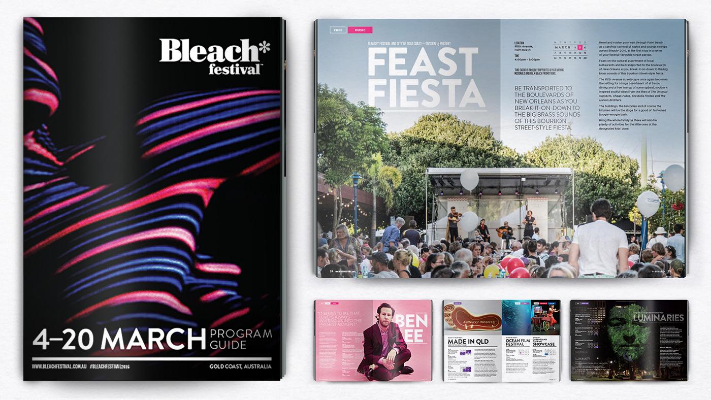 festival branding event guide Program
