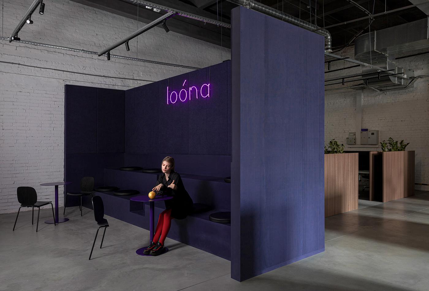 architecture design Interior interior design  loona Office Office Design Office interior