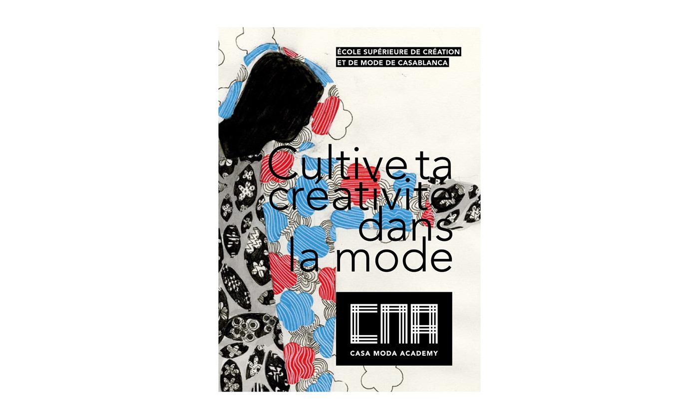 CMA Maroc identity design