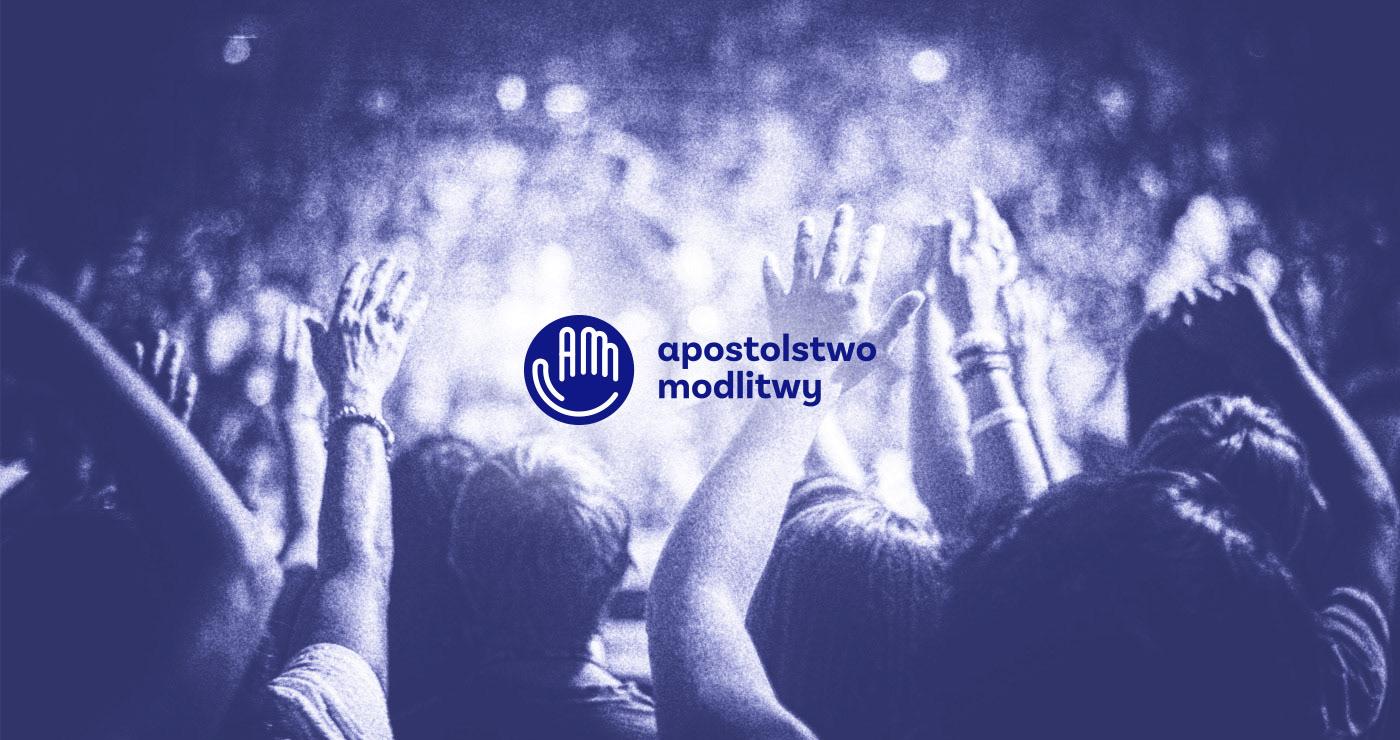 logo apostolstwo modlitwy modlitwa wiara wspólnota bog dłoń prayer faith God