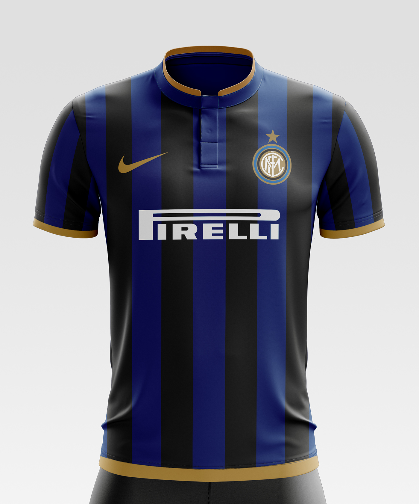 637ab41e023 I designed football kits for FC Internazionale Milano (also know as Inter  Milan) for the upcoming season 17 18. Save to Collection