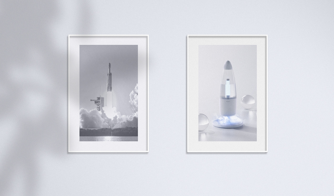 air purifier appliance desk home humidifier lighting product design  spaceship universe visualization