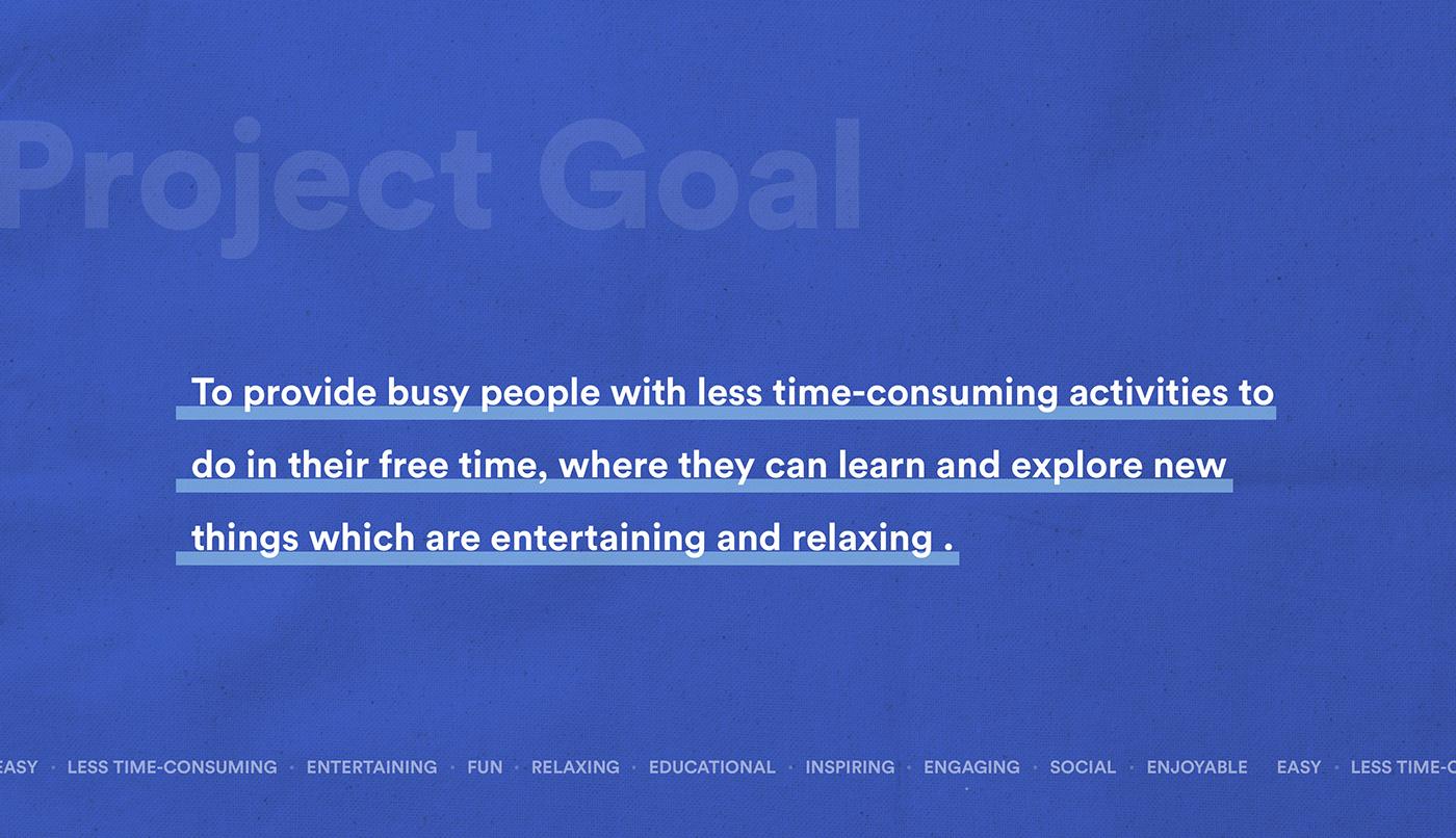 Hobby ux Case Study activity app UI/UX persona ui design user experience UX process