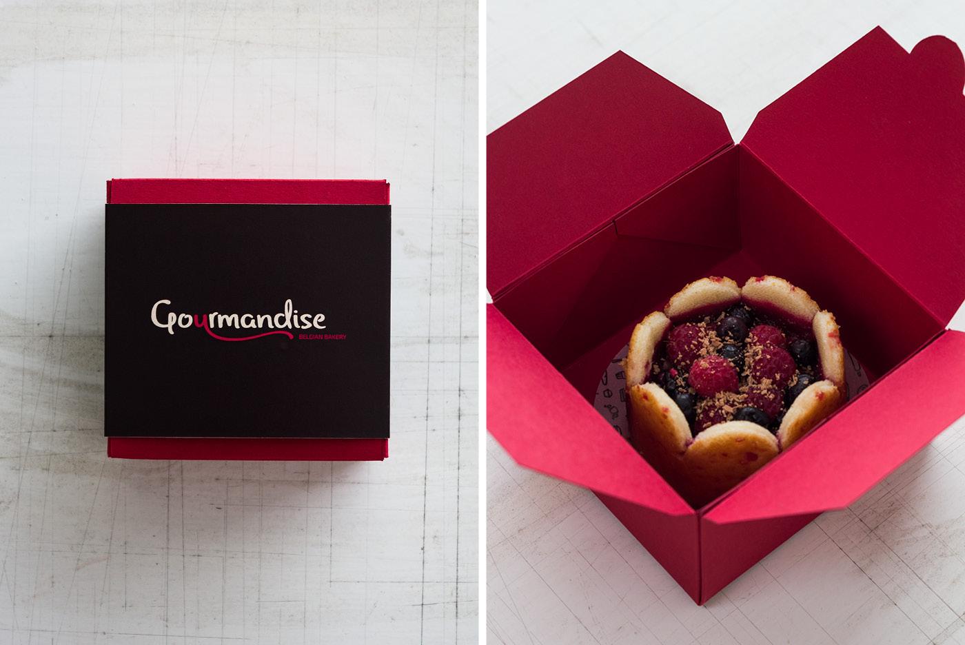 Adobe Portfolio bakery belgium French Coffee cake macaron Typeface font free download baguette croissant appetising takeaway box