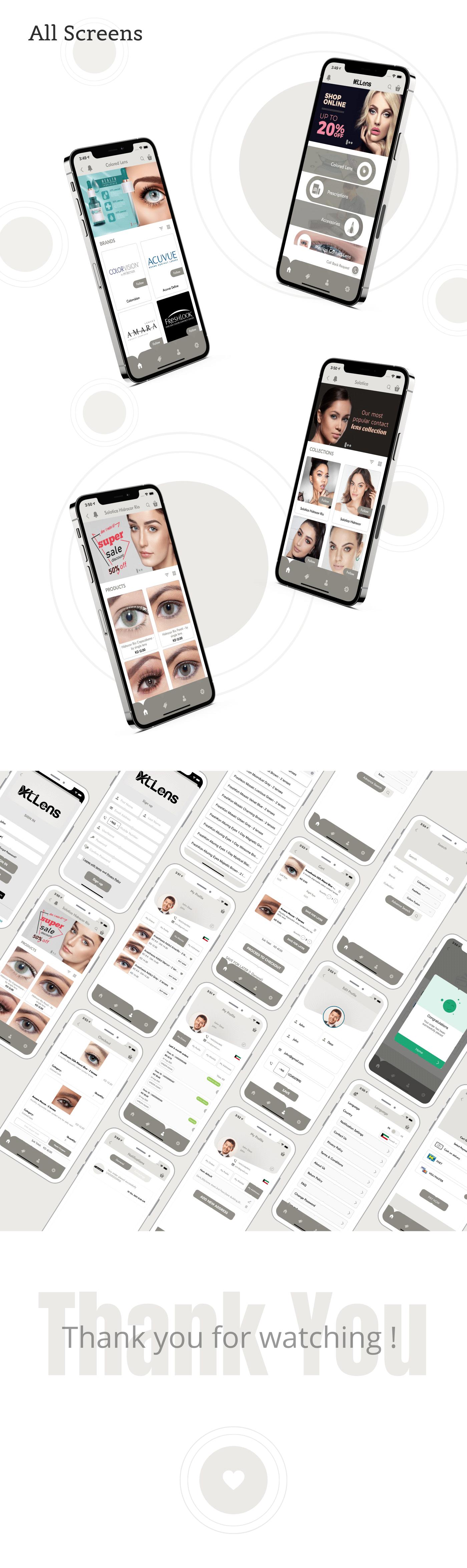 app design Mobile app shopping app uiux