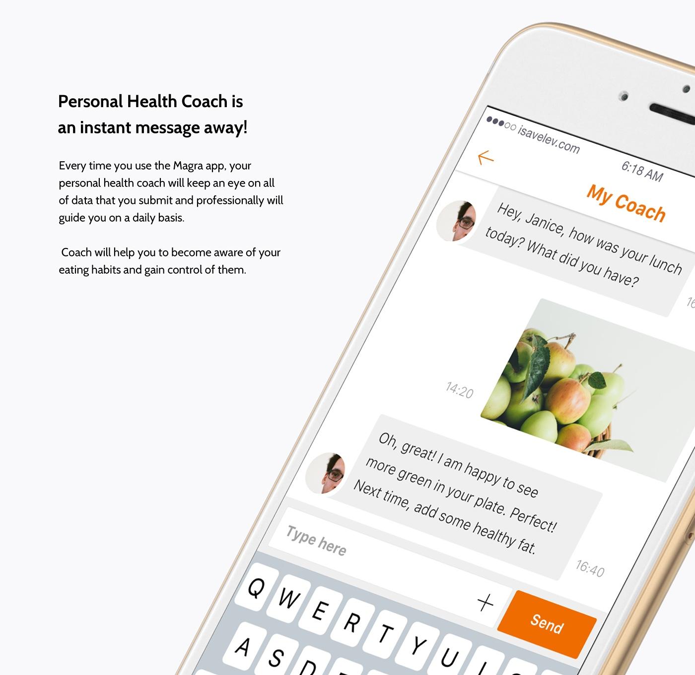 ios app calories fitness iphone tracker diet heart Wellness