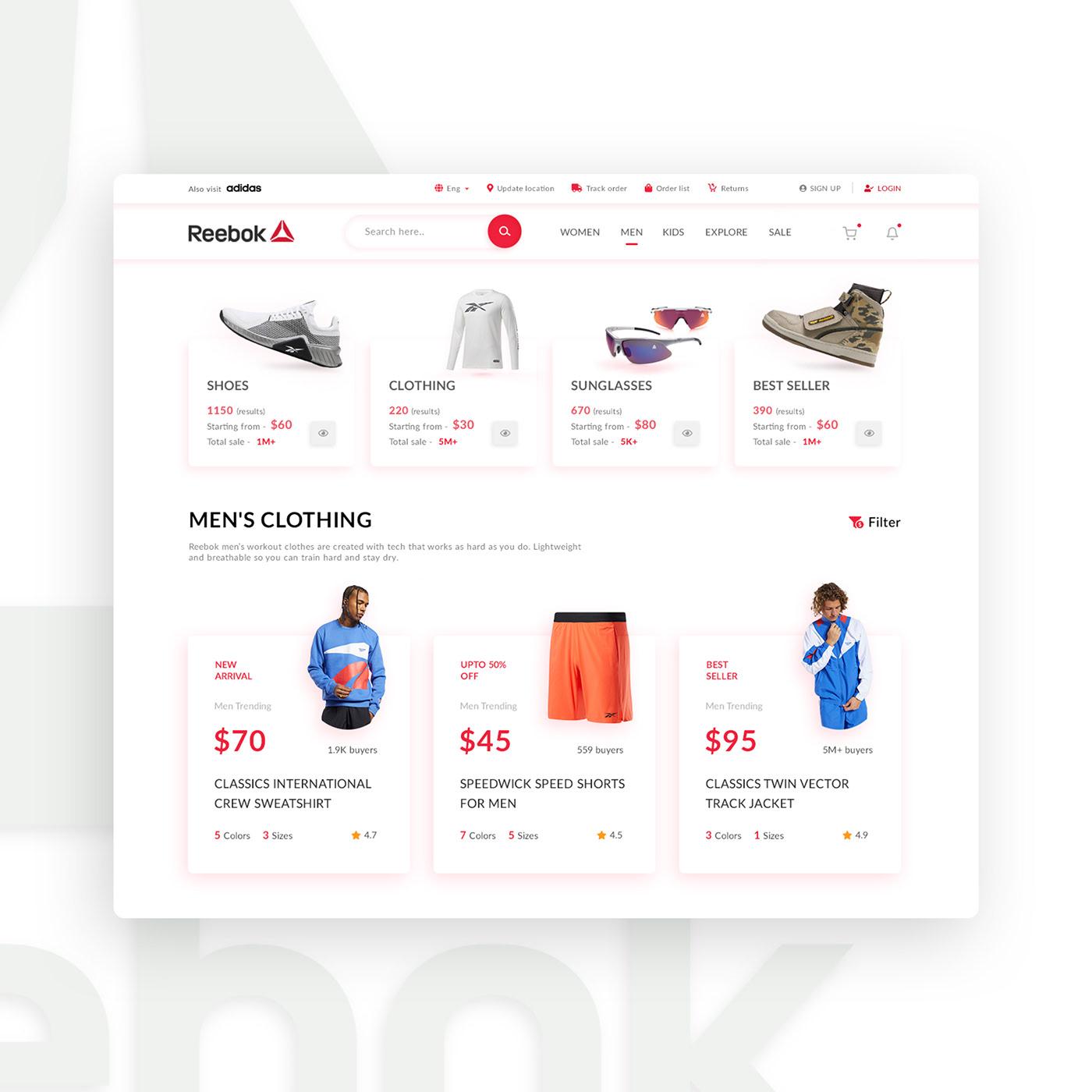 Clean UI Design Inspiration designers designs Logo Designs minimal design ui designs UX Designs web designs web developers