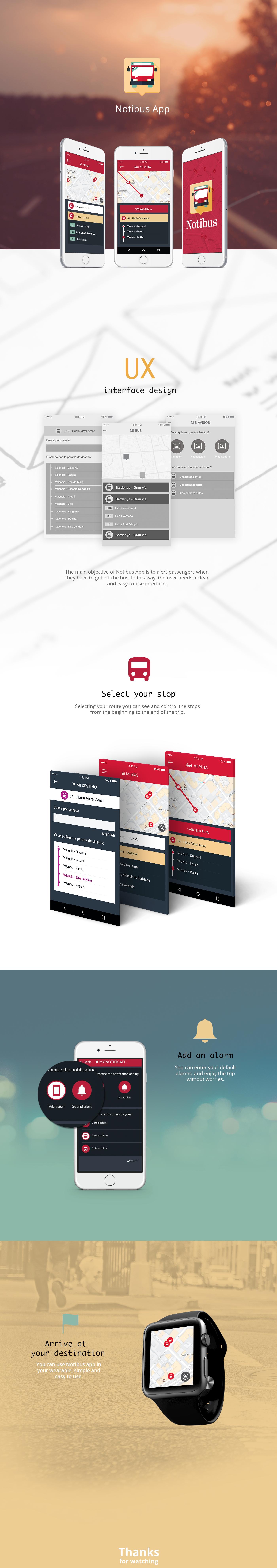app bus app  maps UI ux iphone phone Interface