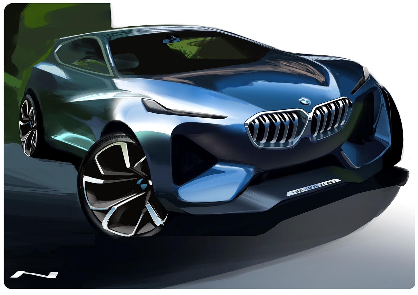 優秀的20張概念車草圖設計欣賞