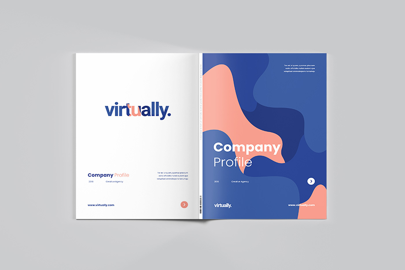 Hipster Company Profile On Behance