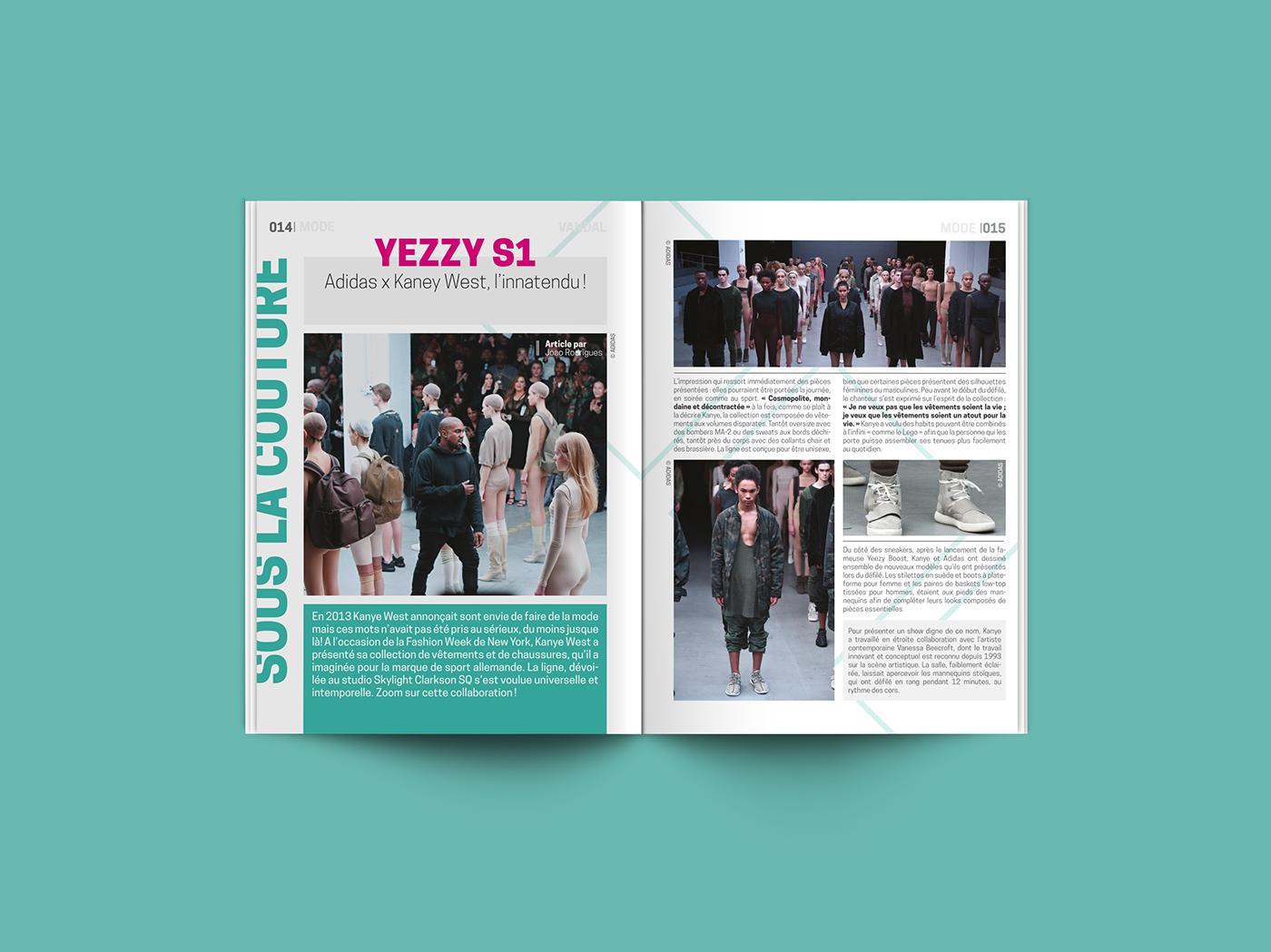Vandal Magazine On Behance