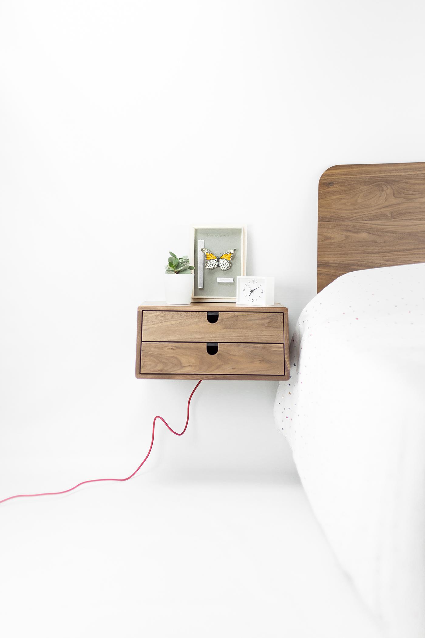 有創意感的21張床頭櫃設計欣賞
