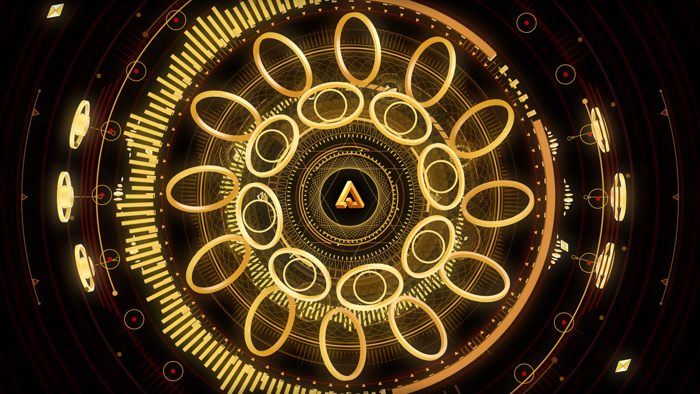 arty tour visuals gold vector DANCE   edm mysterious Volume ornaments shapes Ps25Under25 Label MakeItNYC