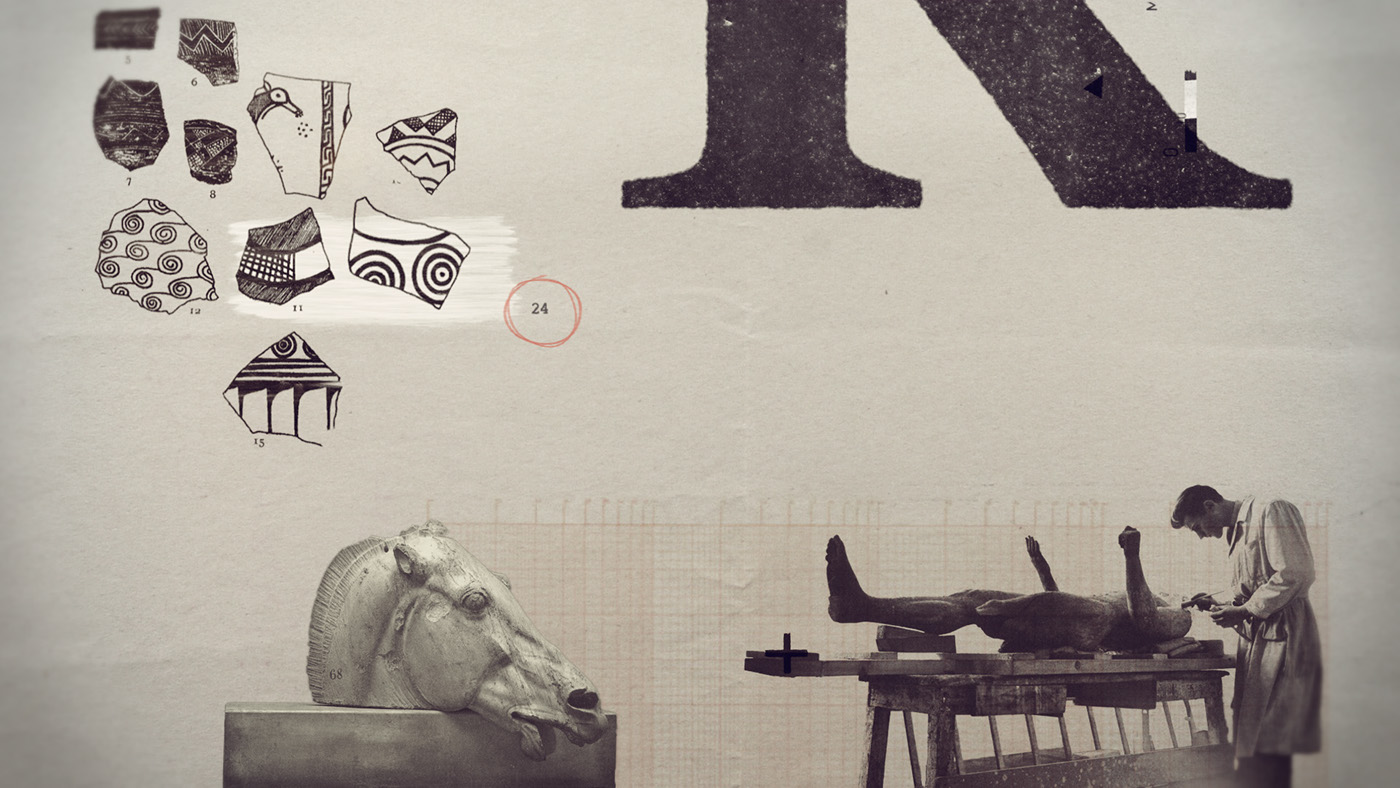 motion graphics  main titles title sequence art direction  Documentary  art Greece after effects
