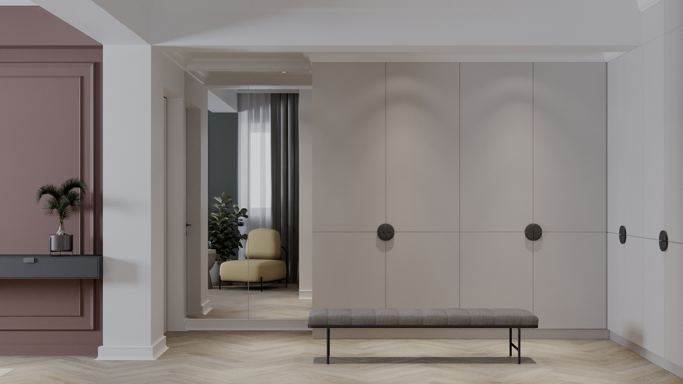 bedroom bucharest design dressing Interior