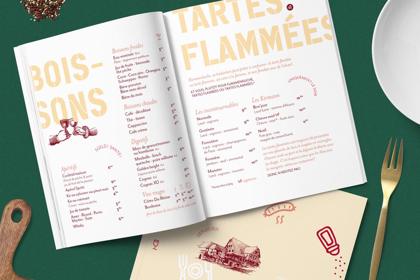 Image may contain: menu