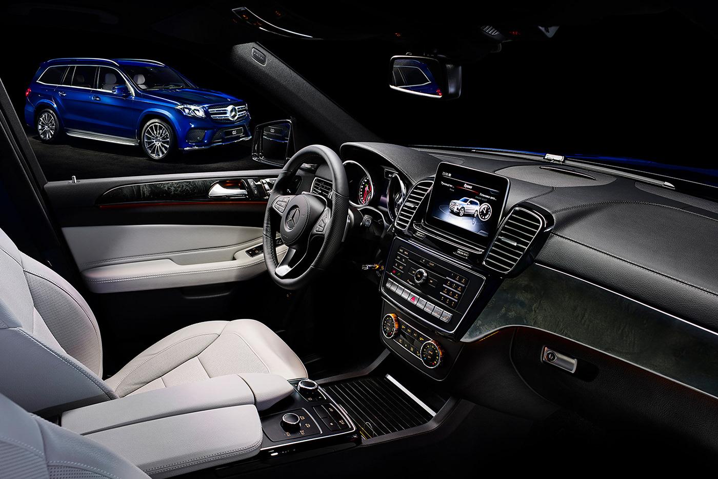 dmitry zhuravlev Photography  automotive   mercedes Mercedes GLS Esquire