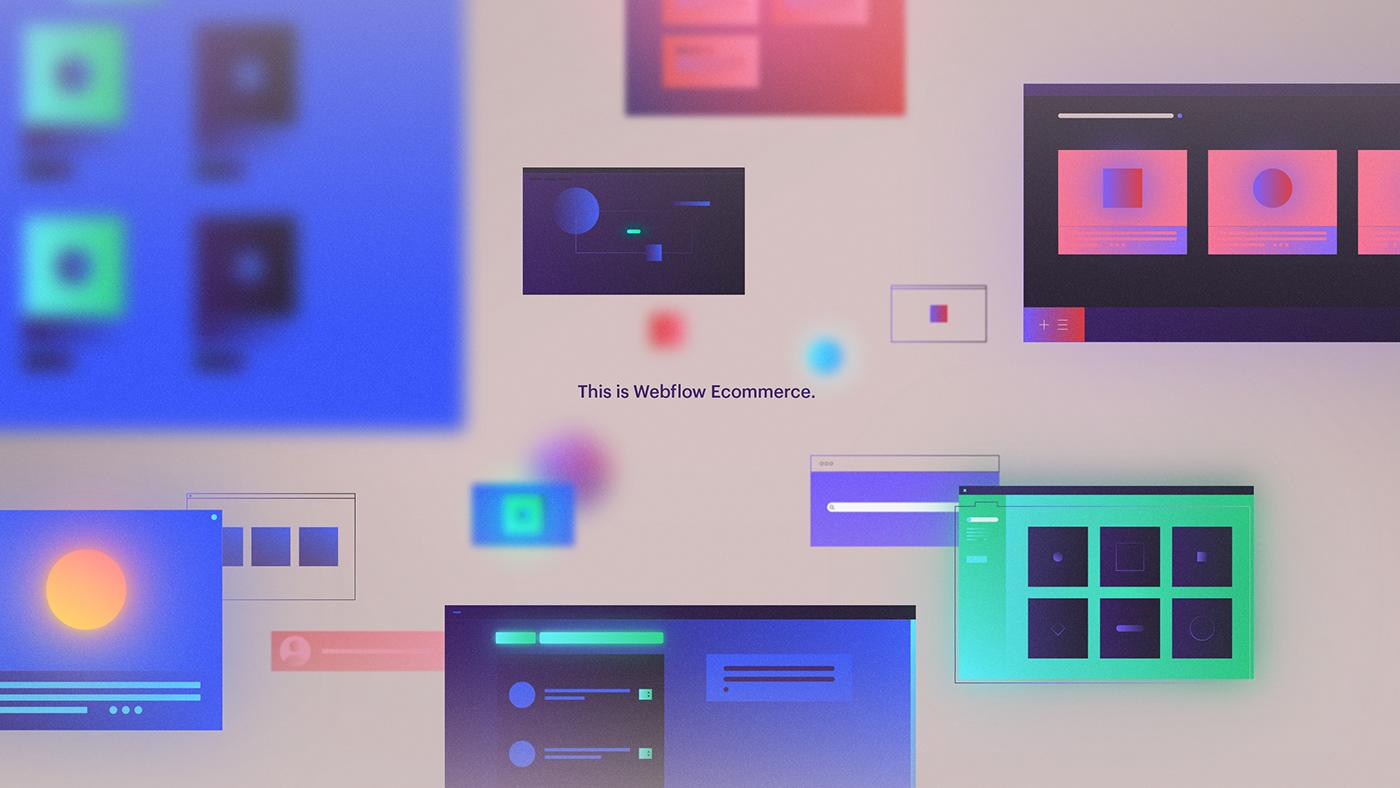 Webflow - Ecommerce on Behance