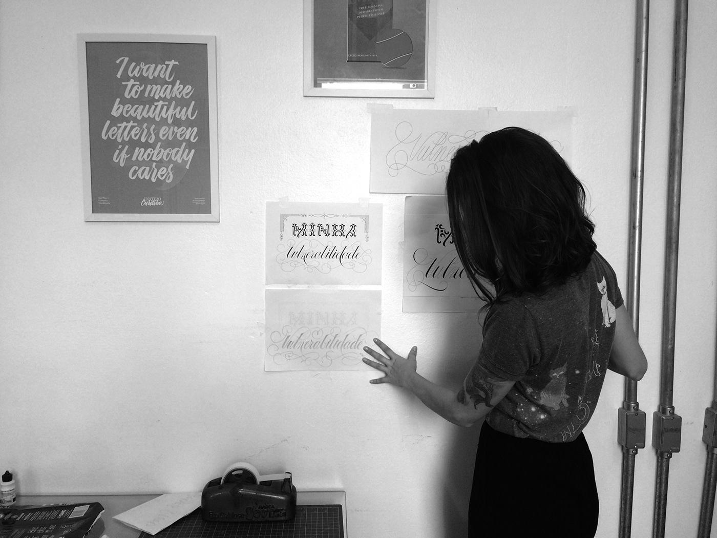 poster feminism girls power ana laydner Alice Neumann lettering print type female artwork