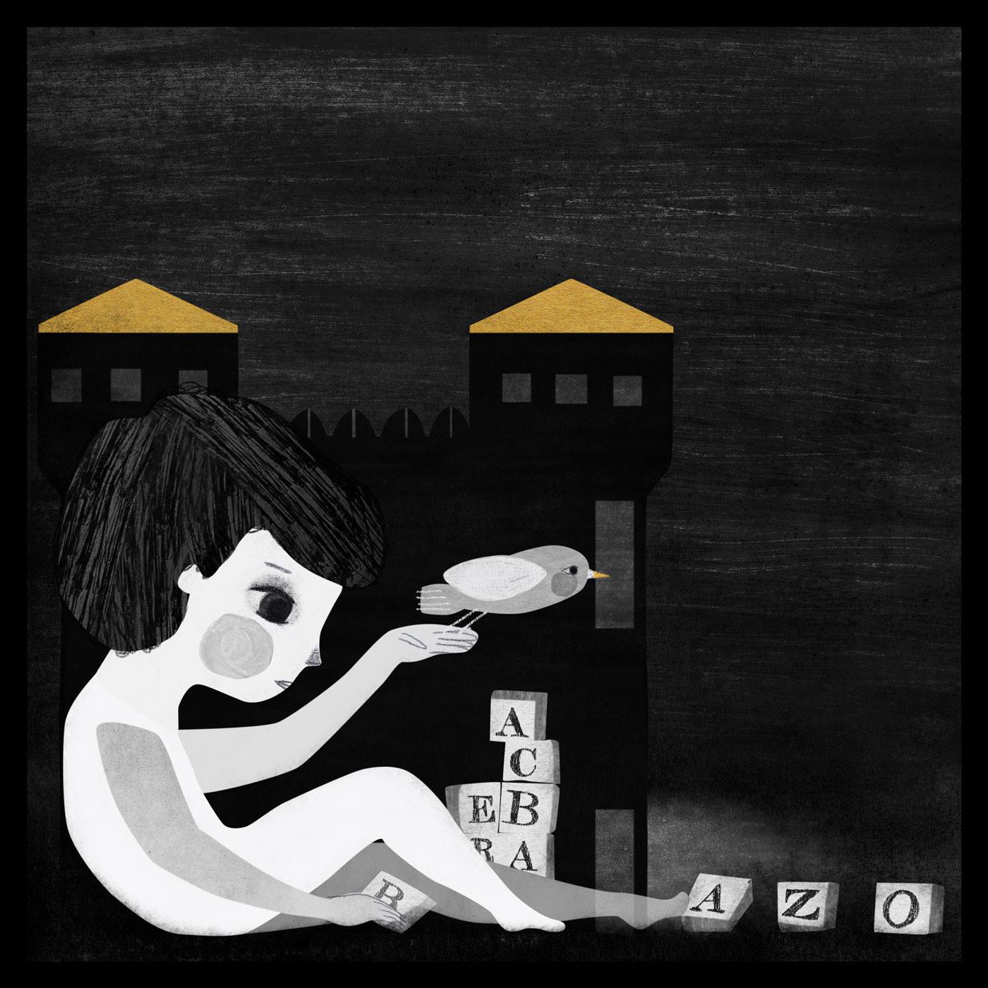 ilustracion ILLUSTRATION  blackandwhite blancoynegro ChildrenIllustration ilustracioninfantil niños kidliart kidbooks kidsillustration