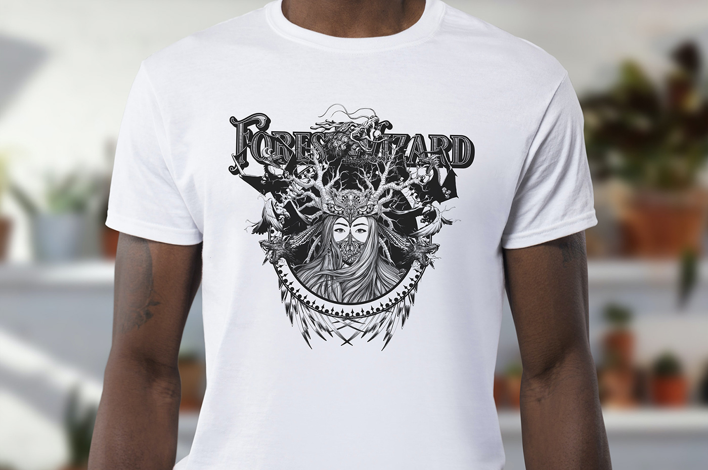 Image may contain: person, active shirt and t-shirt