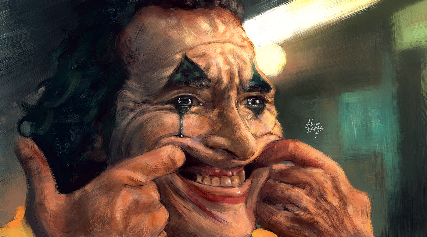 Joker 2019 Cold Your Fire On Behance