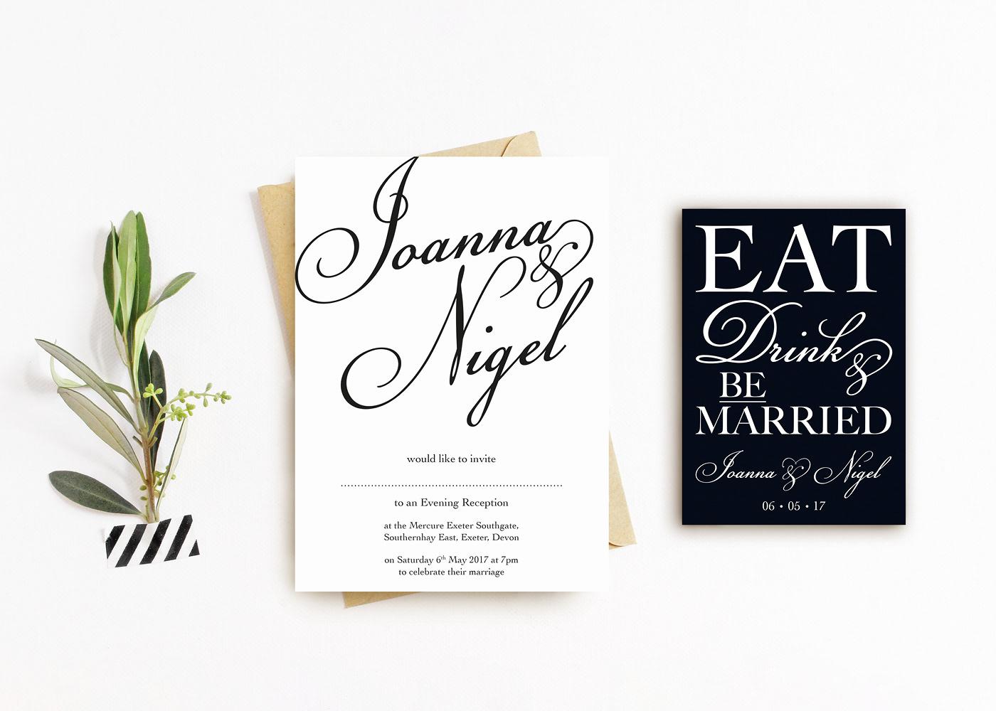 wedding invitations wedding invitation invite Stationery suite ILLUSTRATION  typography   graphic design  print design