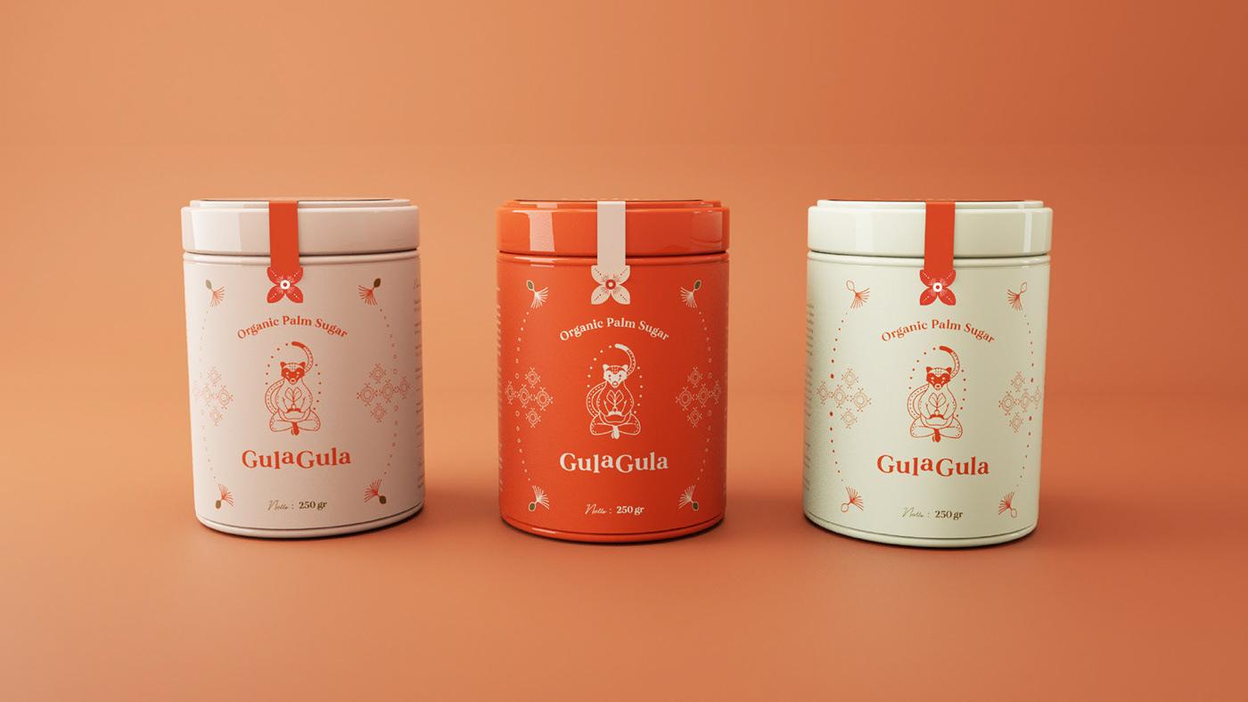 animal logo branding  Food  food branding Food Packaging graphic desin logo Packaging sugar