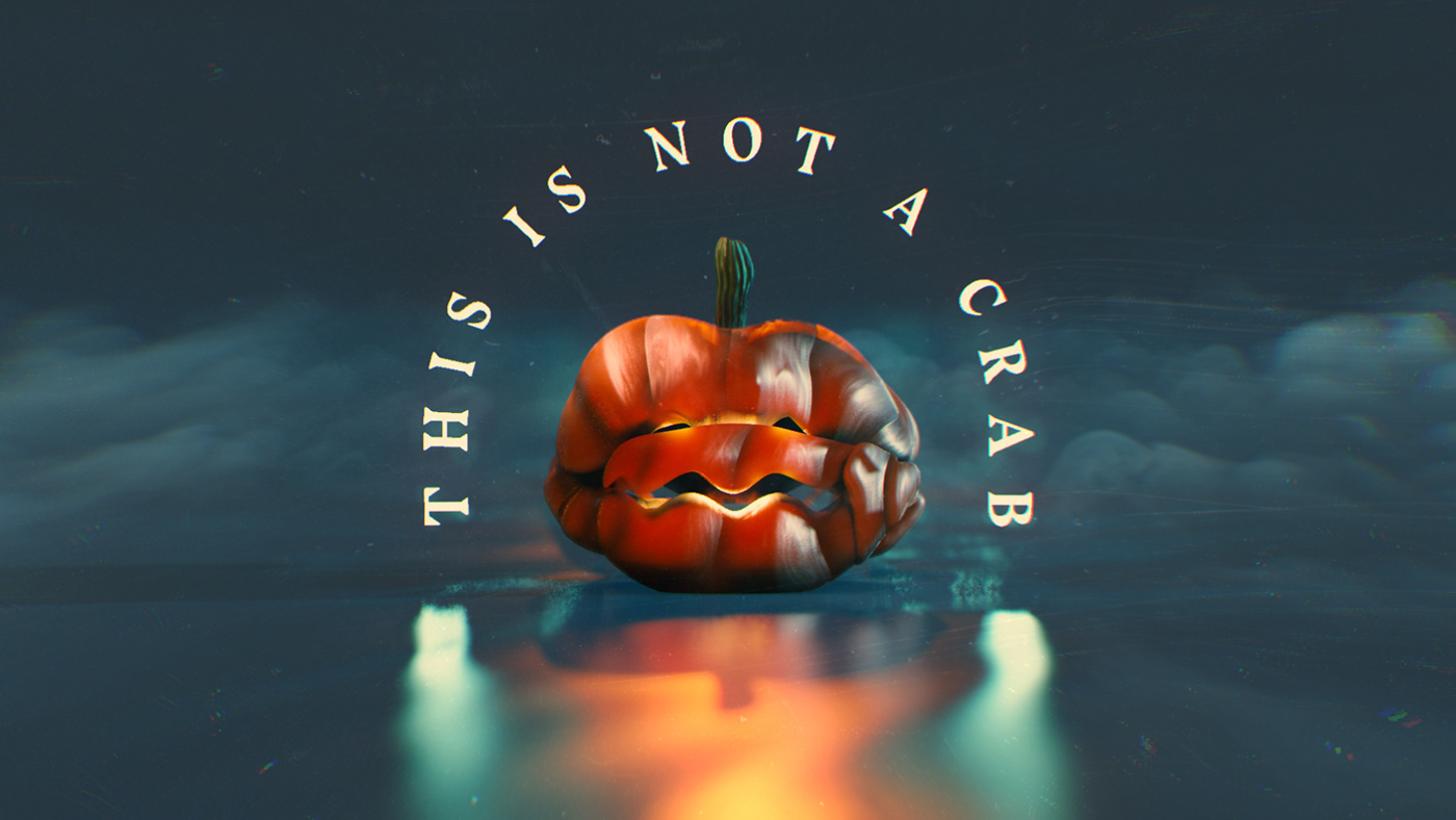 This is not a Crab... it's a Pumpkin!
