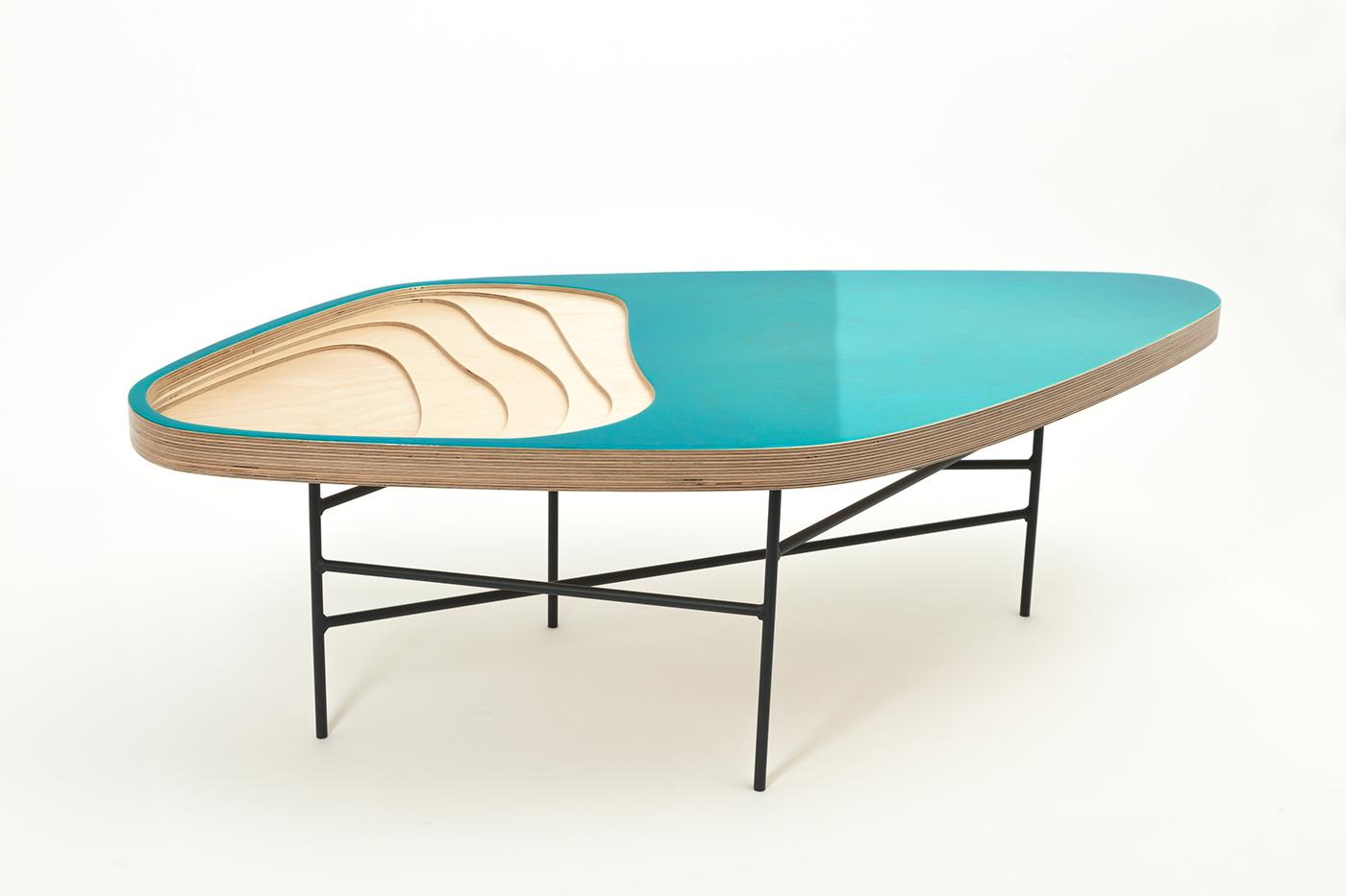 Table basse fidji 322 on behance - Que mettre sur une table basse ...