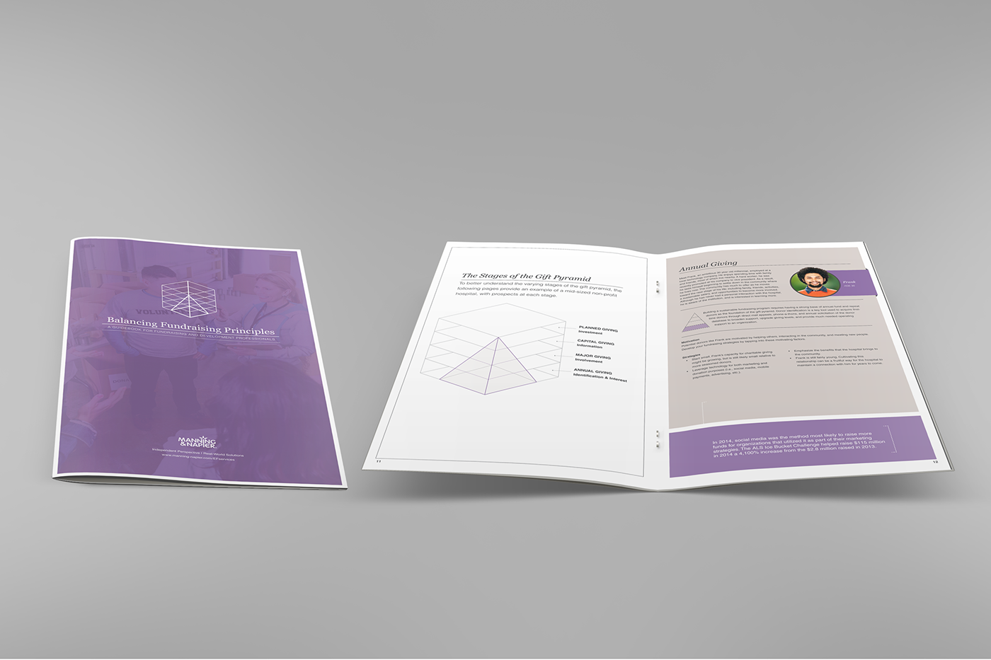brochure financial investing print Financial Services Investment firm