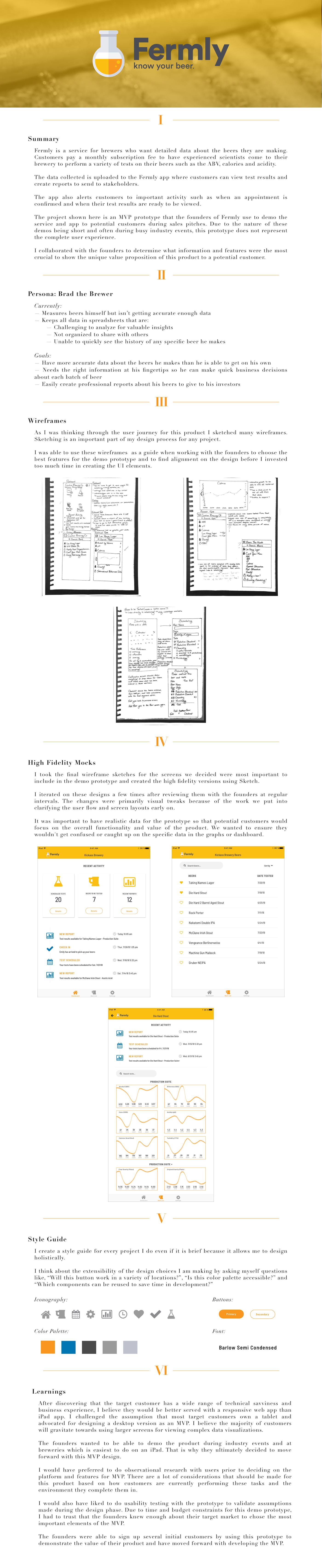 data visualization iPad App