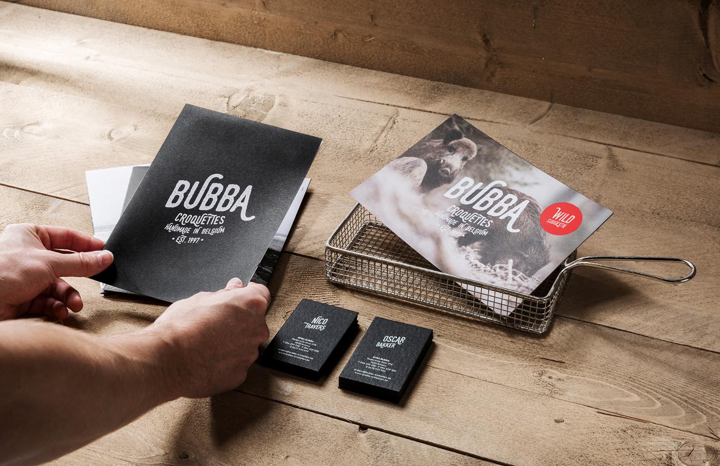 Branding: Bubba Handmade Croquettes