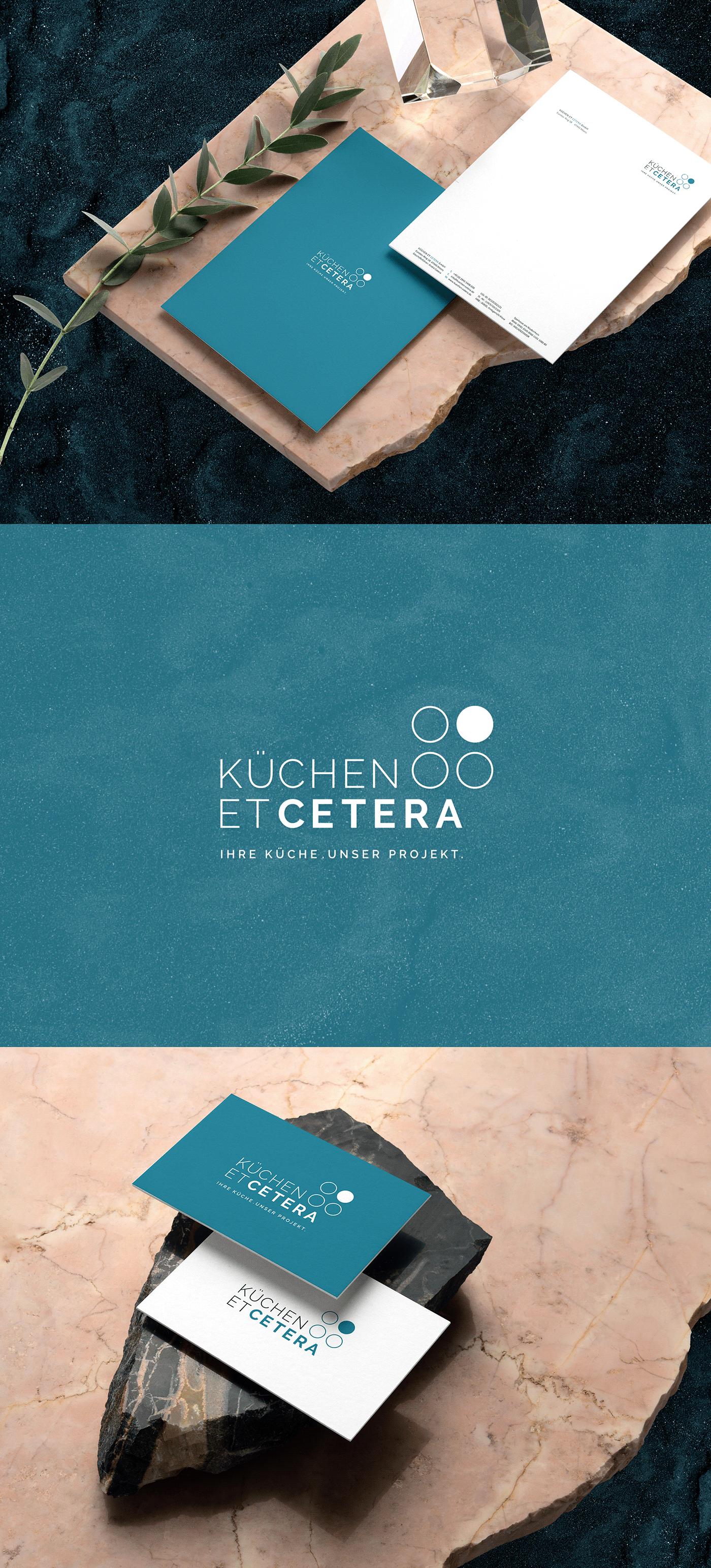 blue braddesign branding  Corporate Design Kirchen logo moderndesign