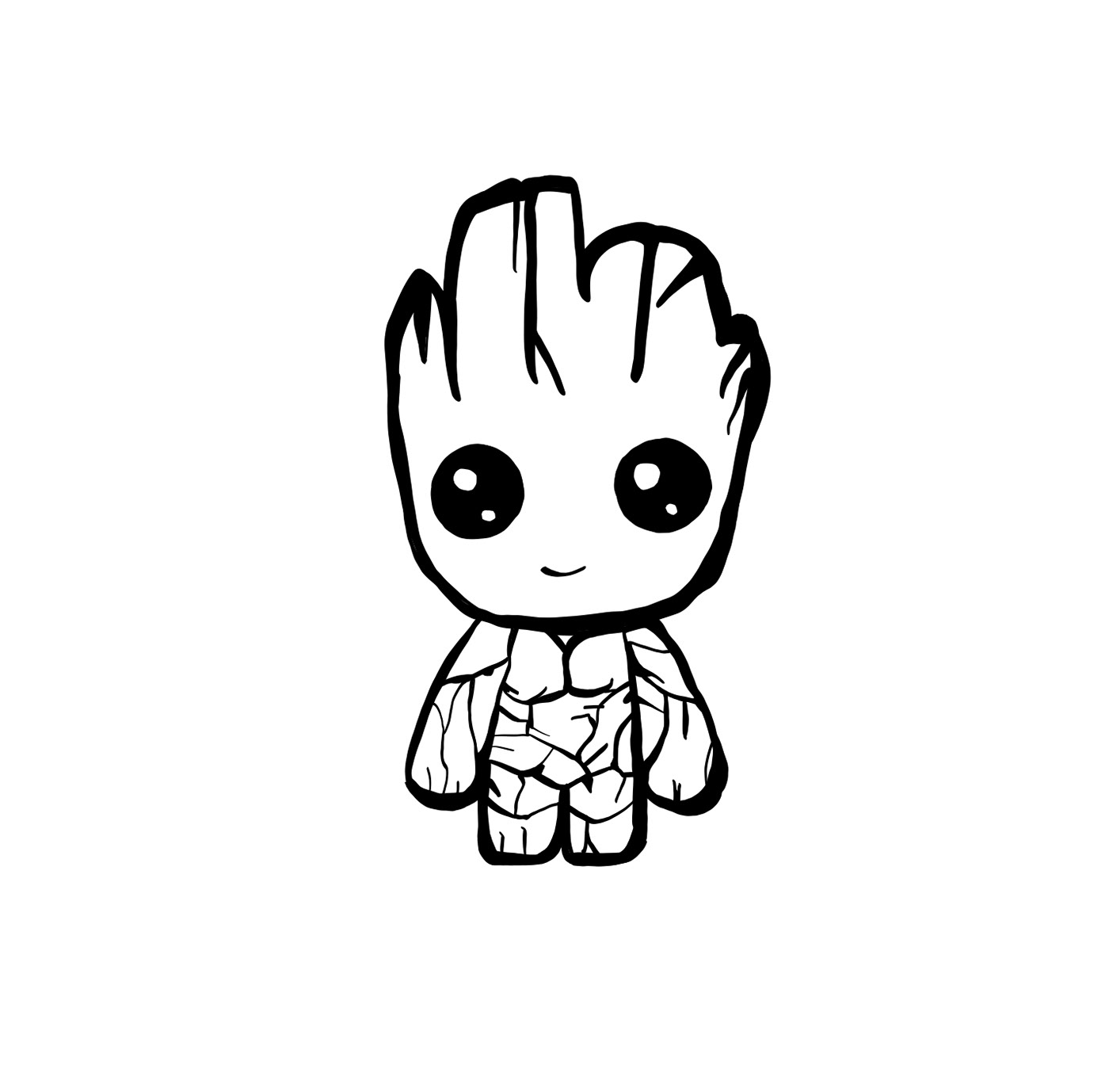 Baby Groot On Behance
