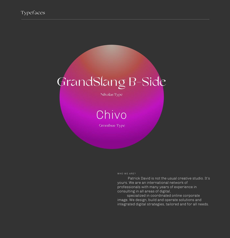 Brutalist design minimal portfolio Progetto web typography   Web web agency Web Design  Website
