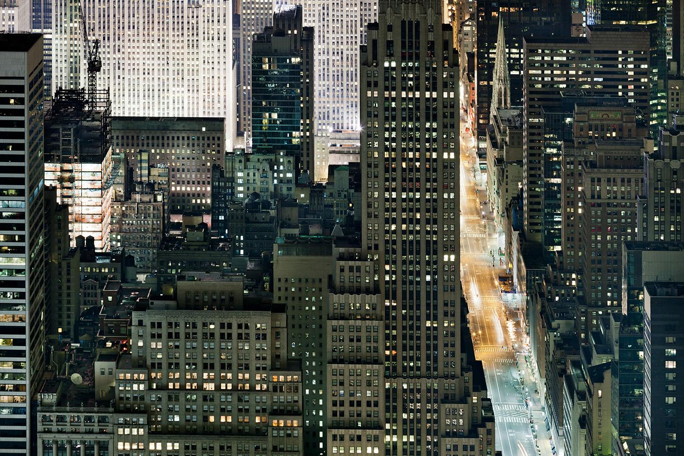 cityscape night Urban concrete jungle architecture Manhattan New York longexposure Landscape skyline