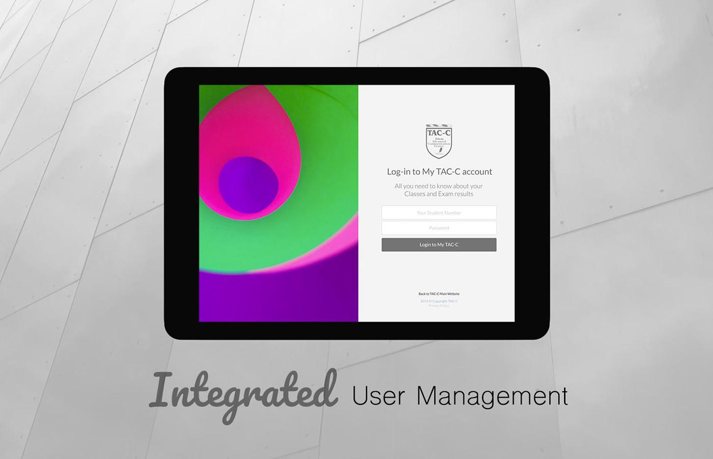 student teacher class management UI ux development design trend