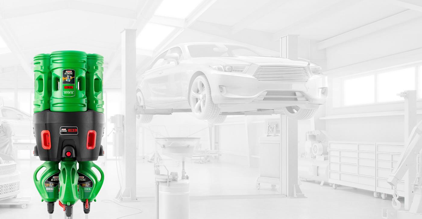 Castrol ePod CGI car oil Workshop epods