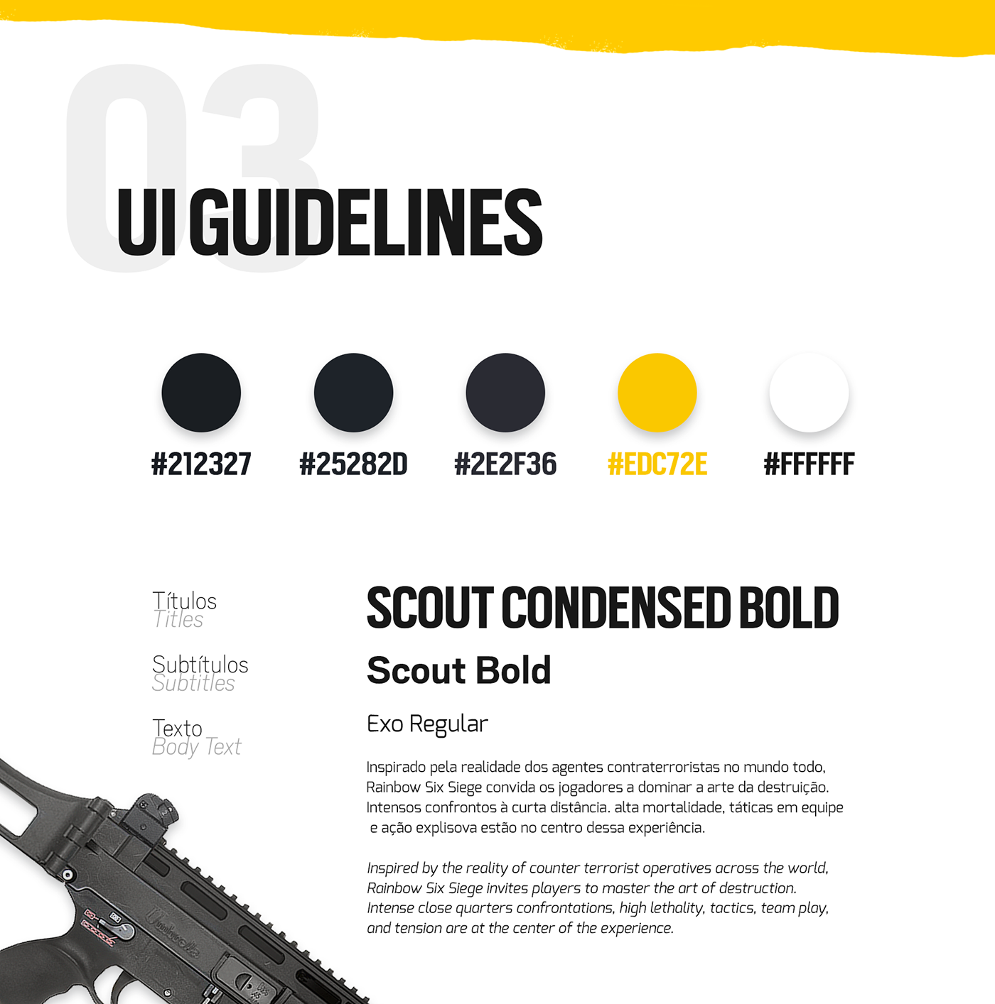 Rainbow Six Seek ‧ UI/UX Design on Behance