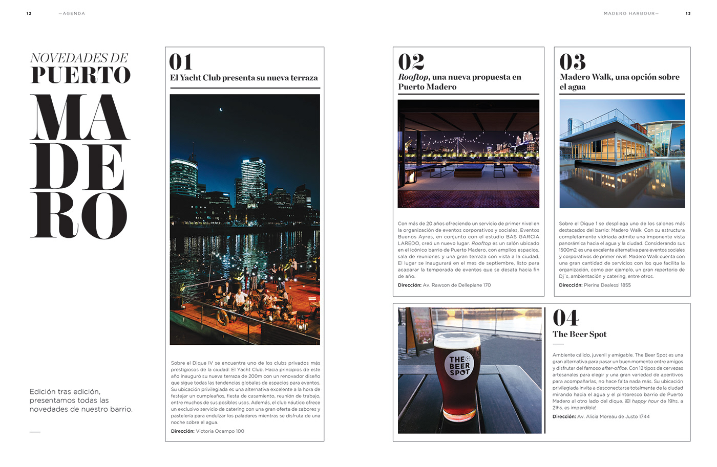 Revista Madero Harbour Edición 04 On Behance