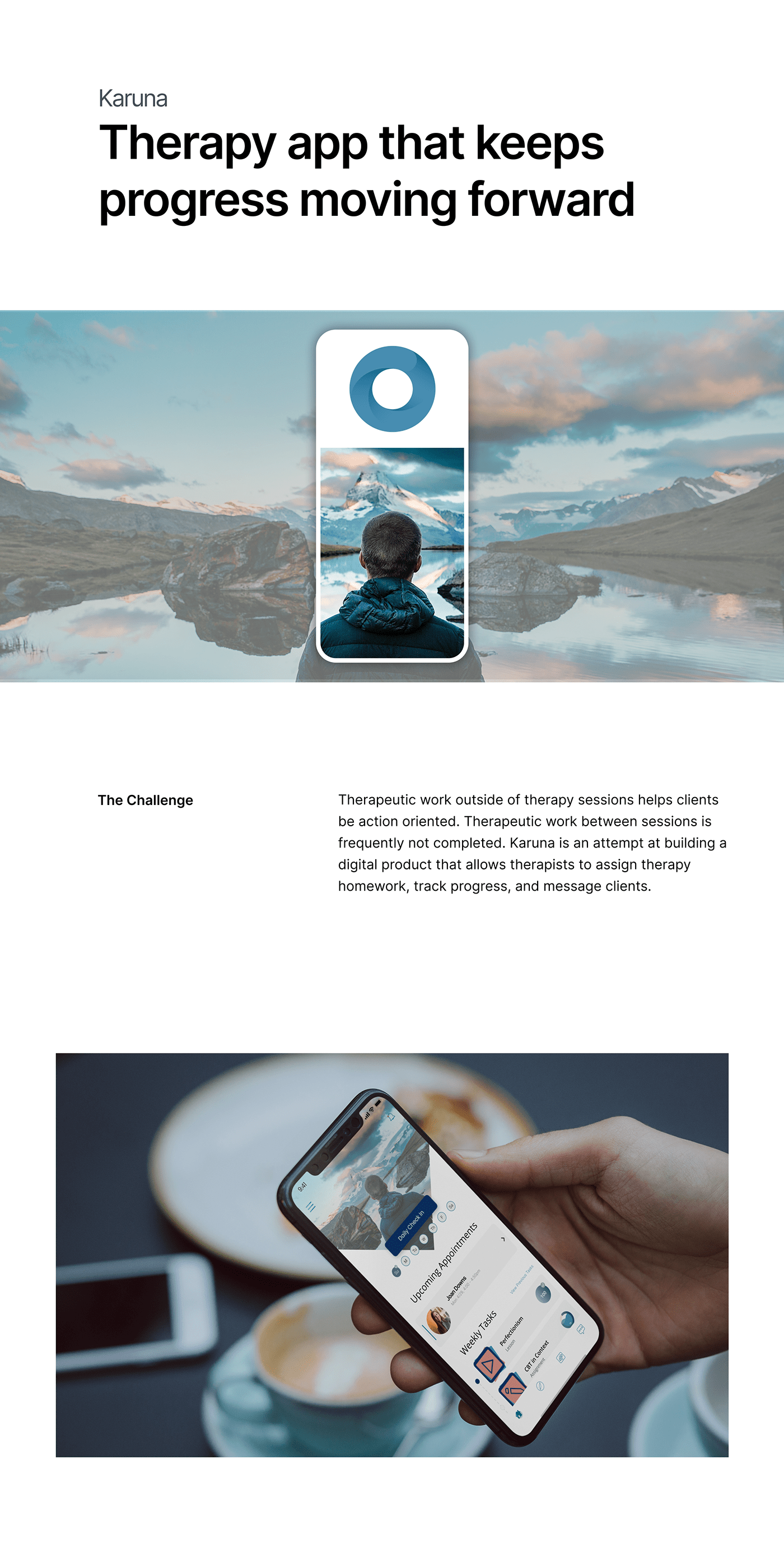 Figma ios mental health mental wellness mobile design product design  sass therapy UI ux/ui