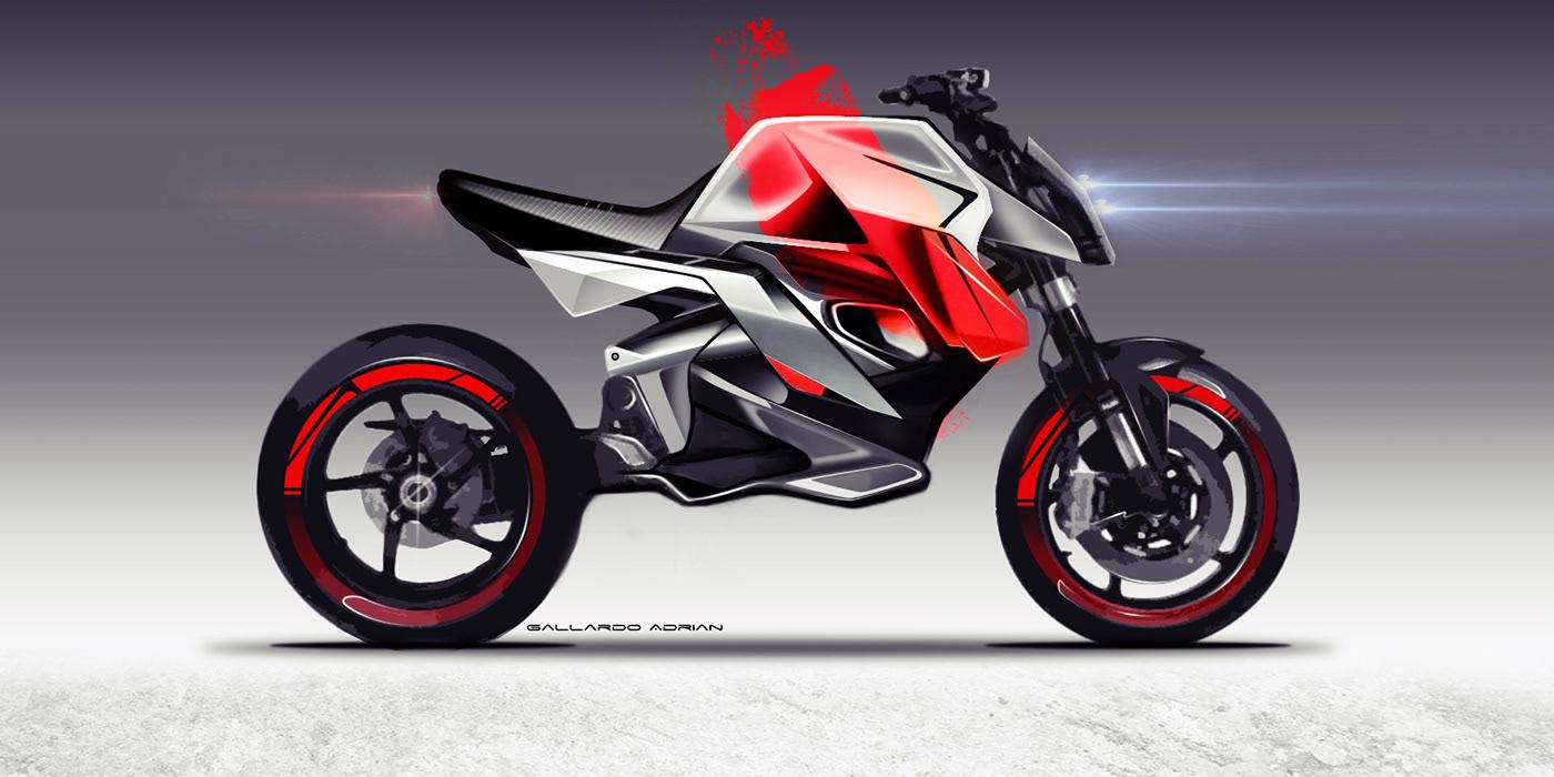 motorcycle motorcycle design bike design Bike motorcycle illustration Motorcycle Concept concept design cafe racer
