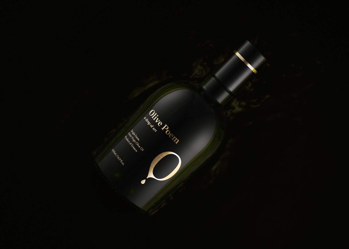 Packaging,graphic design ,Olive Oil,brand identity,branding ,bottle,evoo,gold,screen printing