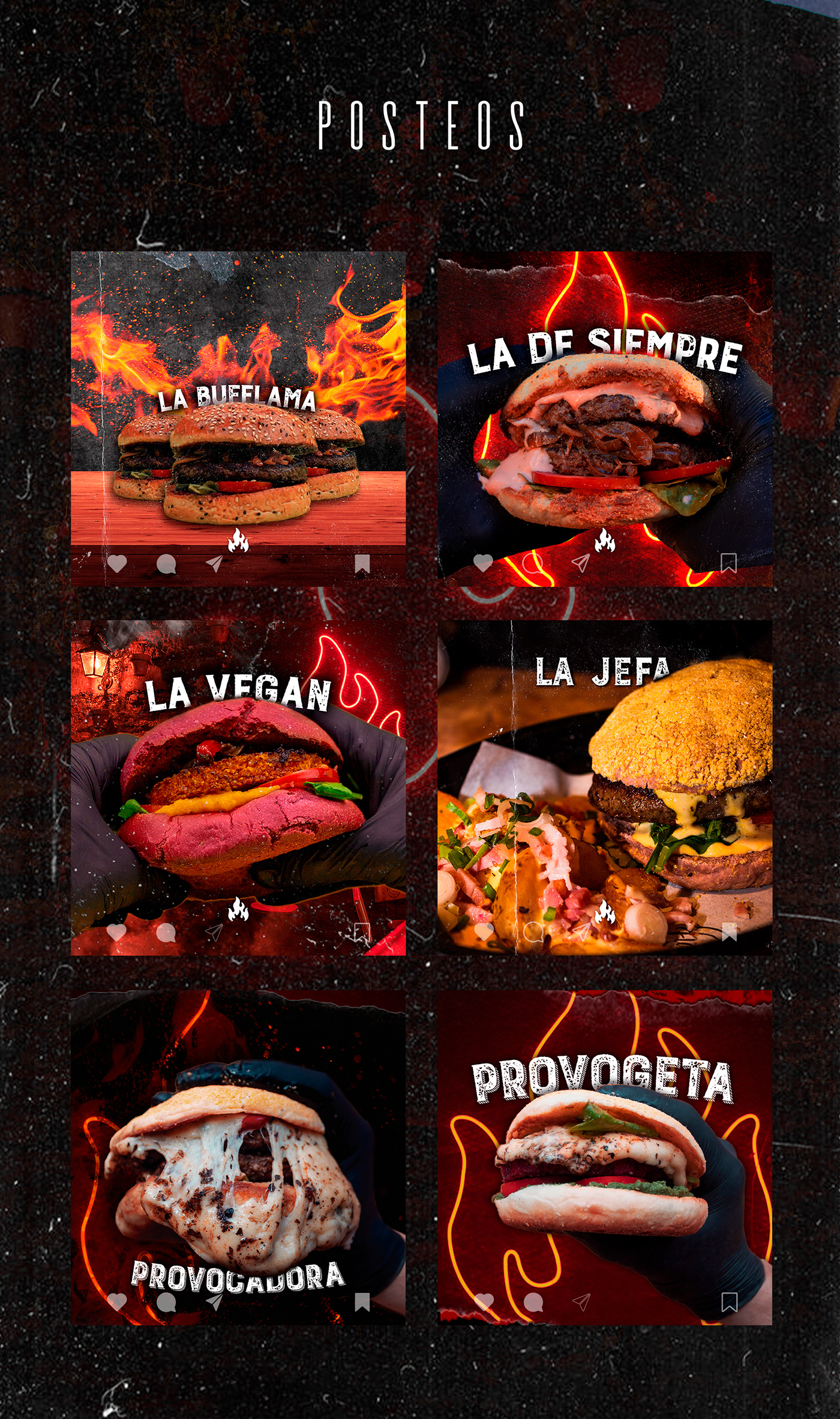 Advertising  animation  audiovisual banner burger Fotografia motion graphics  social media Stories video