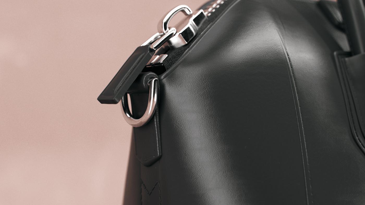 cloth fabrics Fashion  fluid givenchy handbag leather luxury simulation texture